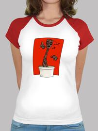 Groot camiseta chica mangas color