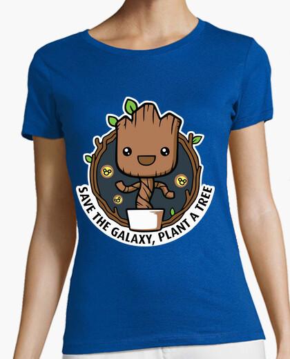 Camiseta groot planta