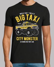 gros taxi monster truck new york
