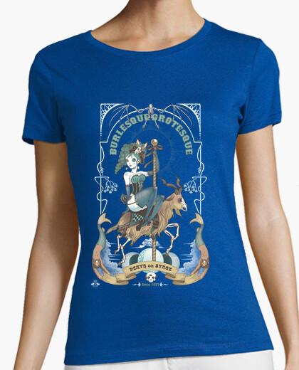 Tee-shirt grotesque burlesque