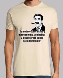 Groucho Marx - Es mejor estar callado