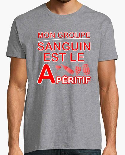 Tee-shirt Groupe apéritif