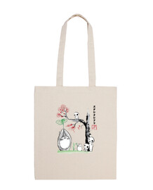 growing trees sumi-e