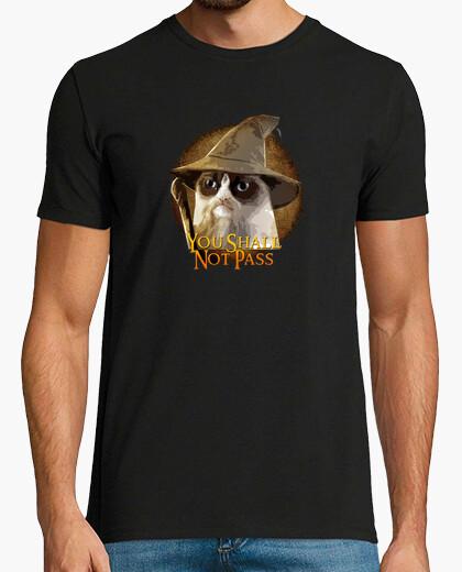 Camiseta Grumpy Catdalf