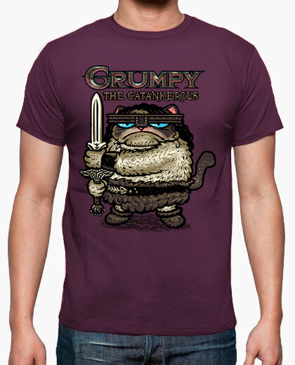 Grumpy The Catankerous camiseta