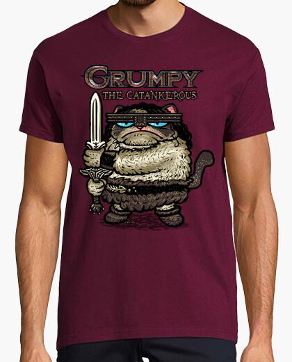 Grumpy The Catankerous camiseta chico