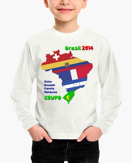 Ropa infantil Grupo E Mundial 2014