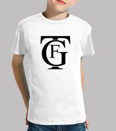 GTF Gran Teatro Falla - Niño, manga corta, blanco