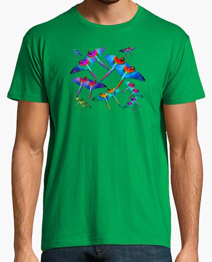 Camiseta Guacamayos en vuelo