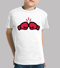 guantes de boxeo ponche