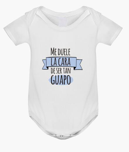 Ropa infantil Guapo! Body bebé, blanco