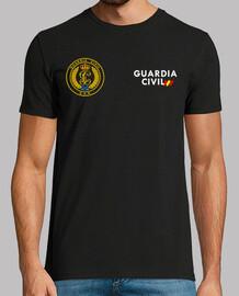 Guardia Civil GAR mod.4 delante y detrás