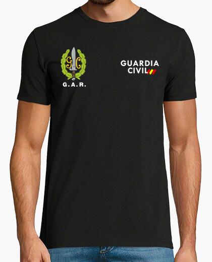 Camiseta Guardia Civil GAR mod.6 delante y detrás
