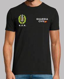 Guardia Civil GAR mod.6 delante y detrás