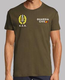 Guardia Civil GAR mod.8 delante y detrás