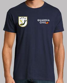 Guardia Civil GEAS mod.2 delante y detrás