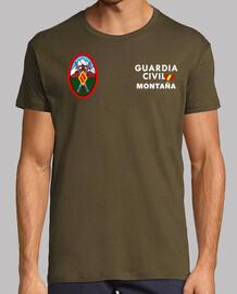 Guardia Civil Montaña mod.2 delante y detrás