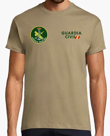 Camiseta Guardia Civil SM mod.4 delante y detrás
