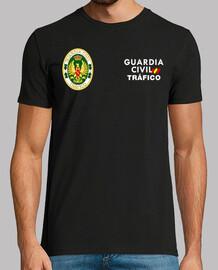 Guardia Civil Tráfico mod.2 delante y detrás