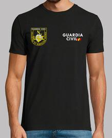Guardia Civil UEI mod.07 delante y detrás