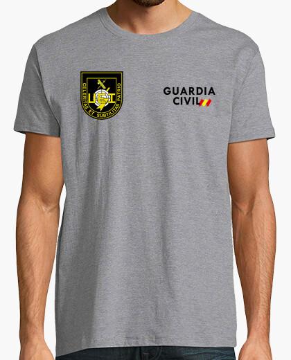 Camiseta Guardia Civil UEI mod.13 delante y detrás