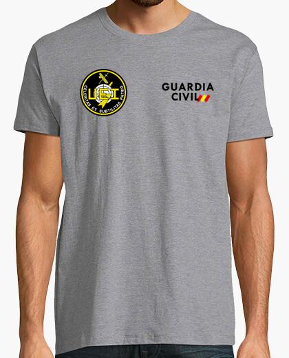 Camiseta Guardia Civil UEI mod.19 delante y detrás