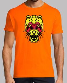 guepard manette jeux video oeil