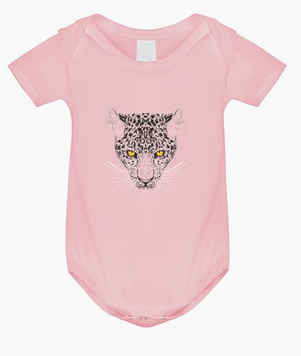 Ropa infantil guepardo gráfico