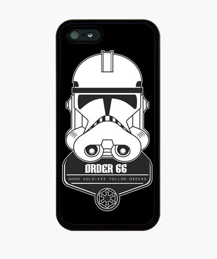 Funda iPhone guerra de las galaxias - ordenar 66