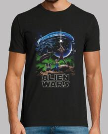 guerras alienígenas camisa para hombre