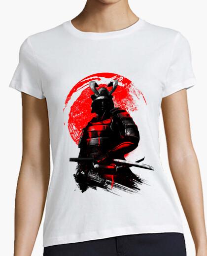 Camiseta guerrero samurai