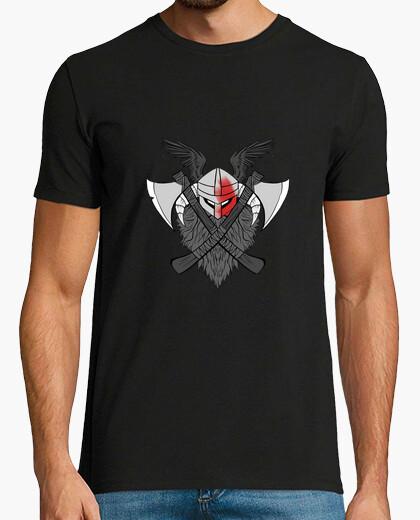 Guerrero vikingo camiseta