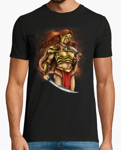 Tee-shirt guerrier chemise dessins épées batailles