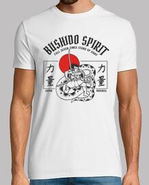 guerrier japonais de chemise de bushido du japon