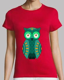 gufo verde t-shirt