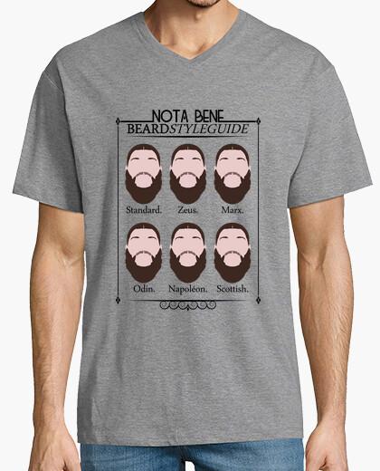 Camiseta guía de estilo barba notabene