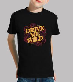 guidare me wild tshirt bambino