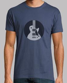 guitar inside a circle