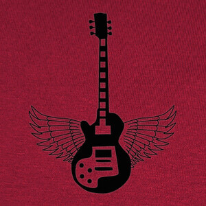 Camisetas Guitar Wings (customize) (for light)