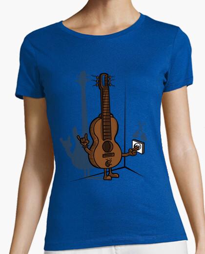 Tee-shirt guitare électrique