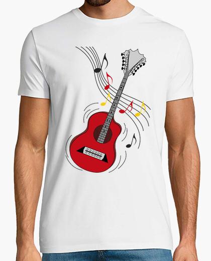 Tee-shirt guitare rock drôle