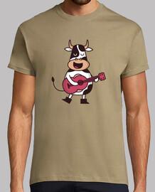 guitariste de vache