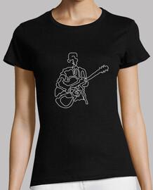 guitariste moderne abstrait
