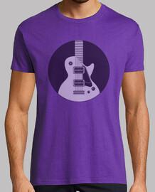 Guitarra dentro de un circulo