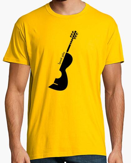 Camiseta guitarra española