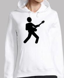 guitarrista de guitarra electrica