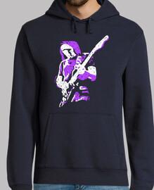 guitarrista moderno estilo creativo