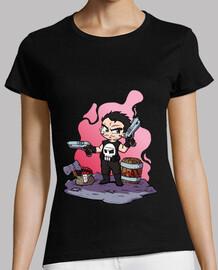 guns - t-shirt pour femme