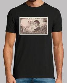 Gustavo Adolfo Bécquer, billete 100 ptas