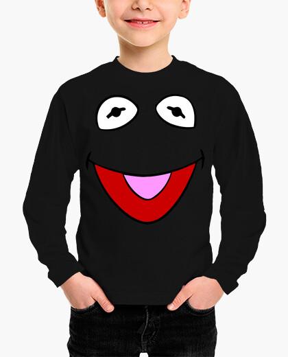 Gustavo frog sesame neighborhood children's clothes
